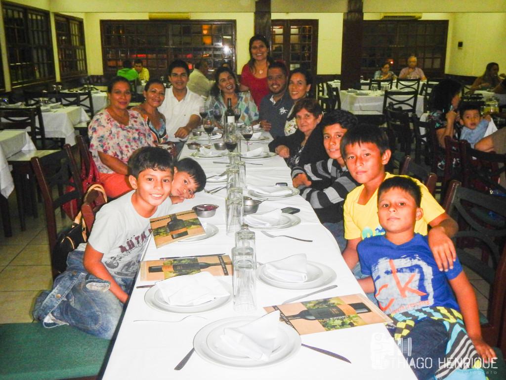 """Jantar com as tias, primas e primos... """"Don Miguel"""""""